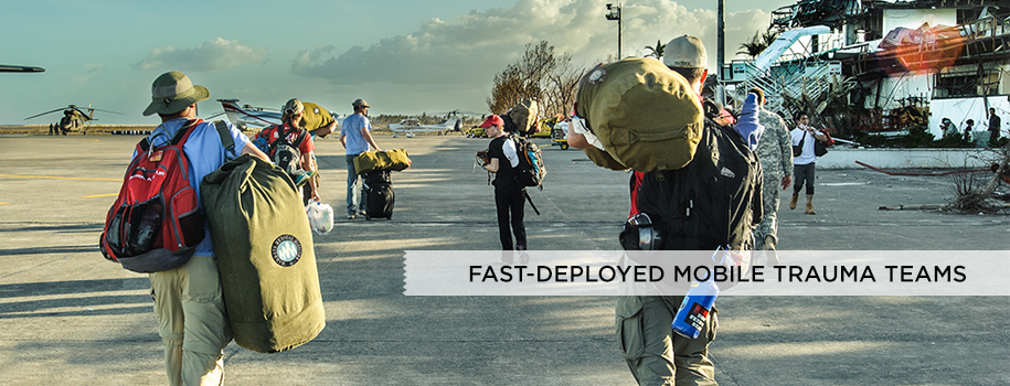Fast-deployed Surgical Trauma Teams
